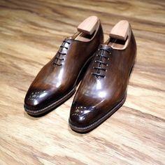 Ed Et Al Shoemakers (Singapore) - Wholecut oxfords with that gorgeous shine. #handmadeinsg