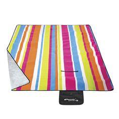 the Blanket stays dry regardless of the Wetness of the ground. Beach Blanket, Picnic Blanket, Outdoor Blanket, Beach Mat, Rugs, Pattern, Rainbow, Birthday, Beach Towel