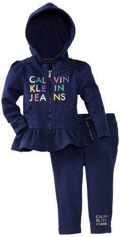 Save $27.70 on Calvin Klein Baby-Girl`s Infant Hooded Pant Set; only $16.80
