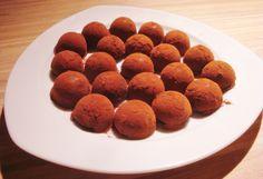 #Recette : Parfois parfumées au whisky, au rhum, au café ou à l'orange, les truffes au chocolat sont également délicieuses nature !