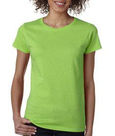 5000L Gildan Heavy Cotton™ Ladies' T-Shirt Lime