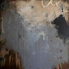 Luis Garcia-Nerey  Grain, 2013  mixed media on panel  72 x72 inches