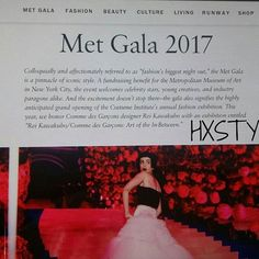 VOGUE NEWS&TRENDS. MET GALA 2017, New York CELEBRATE STYLES...Info Vogue and MyBLOG Now. What Top&In, Dresses, Colours, Jewelry, Beauty and so on. CHECK What to Wear Spring&SUMMER PARTY....RECOMMENDED. Smile @voguemagazine #blog #muotiblogi  #blog #fashion #world #news #trends #celebrate #styles #looks #top #bloggers #blog #follow #metgala2017 #newyork #usa ❤☺