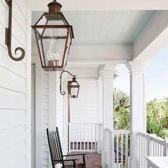 Wraparound Porch with Red Brick Pavers