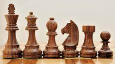 Shesham Wood Staunton Tournament Chess Set with German Knight. http://www.chessbazaar.com/chess-pieces/economy-chess-pieces/shesham-wood-staunton-tournament-chess-set-with-german-knight.html