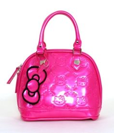- HELLO KITTY MINI PINK PATENT EMBOSSED TOTE BAG LOUNGEFLY OFFICIAL WEBSITE $60.00