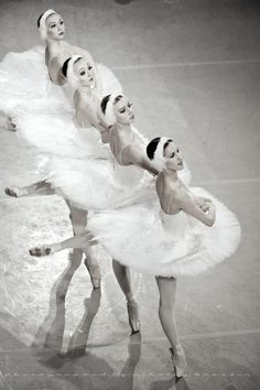 .pas de quatre from Swan Lake.....a right of passage.