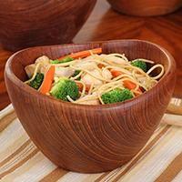Teriyaki Chicken & Pasta with Spicy Vegetables