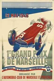 1er Grand prix de Marseille - 1946 - (André Bermond) -