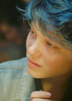 Léa Seydoux as Emma in Blue Is the Warmest Color ,2013.