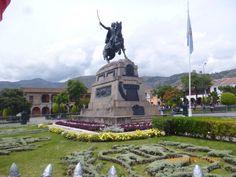 Plaza principal de Ayacucho