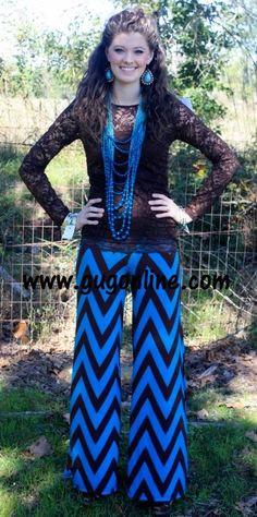 Walk This Way, Talk This Way Brown and Turquoise Chevron Pants Country Girls Outfits, Girl Outfits, Fashion Outfits, Fall Winter Outfits, Summer Outfits, Winter Clothes, Chevron Pants, Trendy Outfits, Cute Outfits
