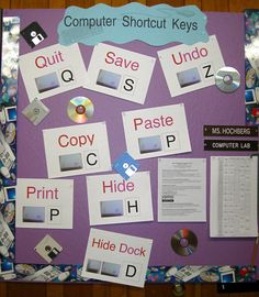Computer Lab Bulletin Board Ideas | Connecting the Bots
