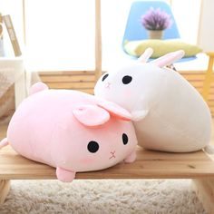 kawaii 50cm plush stuffed pink&white rabbit doll kids toy for baby&girl friend cute pillow gift baby sleeping toys-in Stuffed & Plush Animals from Toys & Hobbies on Aliexpress.com | Alibaba Group