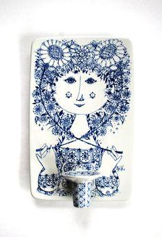 bjorn wiinblad nymolle denmark porcelain by daisychainvintage