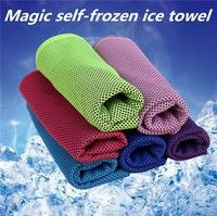 Feature: Materials: Micorfibers Colors: Blue,Light Blue,Pink,Red,Purple,Green This great cooling to