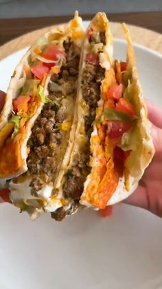 Wrap Recipes, Lunch Recipes, Mexican Food Recipes, Beef Recipes, Dinner Recipes, Cooking Recipes, Healthy Recipes, Tortilla Wraps, Food Cravings