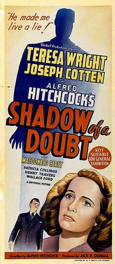 Shadow of a Doubt (1942): ¿Acaso no el Sistema Judicial Colombiano?
