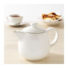 IKEA - VARDAGEN, Teapot, Simple yet timeless tableware with a traditional style and soft round shapes with attention to details.