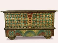 Old Javanese Chest. we could paint that chest of yours...kind of funky.