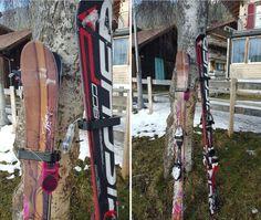 Laat jij je fiets nog los staan? Waarom zou je dat dan wel doen met je ski's. De Ski-Lock zorgt ervoor dat jij je ski's met een gerust hart kunt achterlaten
