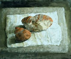 © Safet Zec - Pane (nd) Love Painting, Painting & Drawing, Life Inspiration, Painting Inspiration, Classical Realism, Kitchen Prints, Beautiful Textures, Food Art, Art History