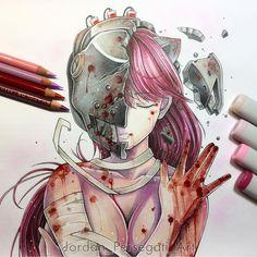 3,182 отметок «Нравится», 24 комментариев — Art Sanity  (@art_sanity) в Instagram: «Awesome artwork by the artist @jordan_persegati_art»