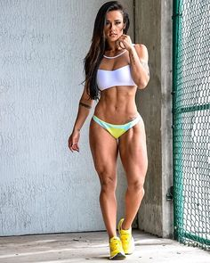 9vengrove:   biczozb:   Sue Lasmar via... - Muscle Goddess