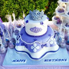 Sofia the fisrt cake