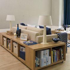 Interior Design | Home Decor | Mobili e Arredamento | Il look casa: soluzioni di stoccaggio per piccoli spazi - 10 idee