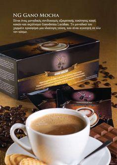 GANO EXCEL NG Mocha coffee www.ganoexcelshop.gr Mocha Coffee, Healthy Food, Healthy Recipes, Tableware, Shopping, Health Foods, Health Recipes, Dinnerware, Healthy Nutrition