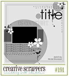 sketch #191 creative scrappers