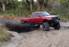 Would be a kick to build a yota crawler with the lil Cummins. It would have to be a complete frame off build so the fram could be. Toyota Pickup 4x4, Toyota Tacoma 4x4, Tacoma Truck, Toyota Trucks, Toyota Hilux, Pickup Trucks, Lifted Trucks, Off Road Camping, Truck Quotes