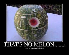 Star Wars: That's No Melon...