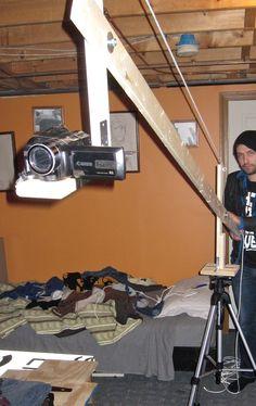 DIY camera crane/jib boom