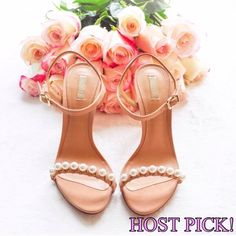 ❤️HOST PICK!❤️ Schutz Pearl Heels Worn only for photoshoots. Pristine condition.   ✔️Shipped ASAP  ✔️Surprise present included  ✔️Bundles ❌PayPal ❌Trades SCHUTZ Shoes Heels