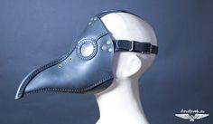 PLAGUE DOCTOR MASK leather hand made steampunk mask Halloween apocalypse gear