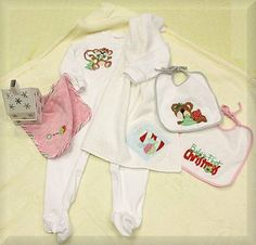Baby's first Christmas design set. HatchedInAfrica.com | Product Details