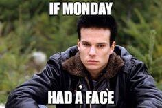 if Monday had a face / James Hurley / Twin Peaks #twinpeaks #meme