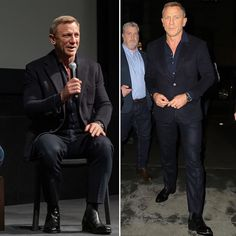 """What's Daniel (Craig) Wearing on Instagram: """"Daniel attending the """"In Character"""" screening of Casino Royale at @themuseumofmodernart earlier this week. . Daniel styled by…"""" James Bond Style, New James Bond, Daniel Craig James Bond, Daniel Craig Style, Daniel Graig, Casino Royale, Sexy, How To Wear, Character"""