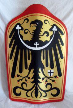 The Pavise with the coat of arms of Duke Konrad VII of Oleśnica (Silesia)