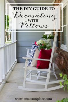 DIY Budget Decorating with Pillows | Easy ideas and inspiration!