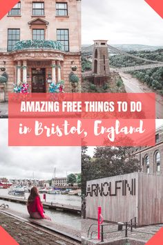 Amazing free things to do in Bristol, England! Amazing free things to do in Bristol, England! Bristol England, Bristol London, Bristol City, Visit Bristol, Top Travel Destinations, Europe Travel Tips, Travel Uk, Slow Travel, London Travel