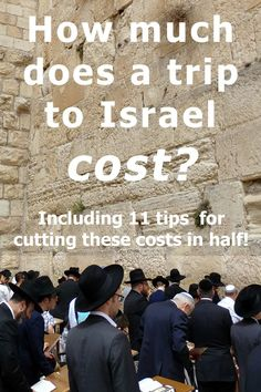 How much does it cost to travel to Israel? Here's a full breakdown - including 11 budgeting tips that will help lower your trip costs by half! Israel Travel, Israel Trip, Visit Israel, Travel Advice, Travel Checklist, Travel Ideas, Travel Tips, Local Festivals, Jordan Travel