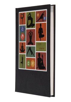 """""""Yoga Journal B Design"""" - All you need to know about yoga is here. This journal covers six forms of yoga and has been developed by a yoga expert and spiritual guru."""