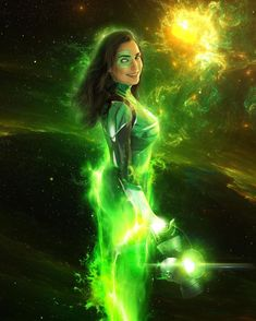 Jessica Cruz Green Lantern, Dc Comics, Dc Comic Costumes, Comic Book Girl, Superhero Cosplay, Model Outfits, Fantasy Costumes, Dc Characters, Marvel Heroes