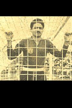 """Don Carlos Alvarado. """"El Aguilucho"""", el mejor arquero costarricense de la historia. Arquero de la Liga, America de Mexico y America de Cali."""
