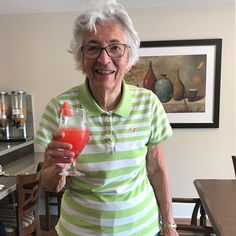 It was a beautiful day for a watermelon social at Carp Commons Retirement Village. Pictured here, is Resident Eileen, she is one in a melon! 😄🍉 #vervecares #community #watermelon #carpcommons  #summervibes One In A Melon, Senior Living, Carp, Food Preparation, Ottawa, Retirement, Watermelon, Community, Beautiful