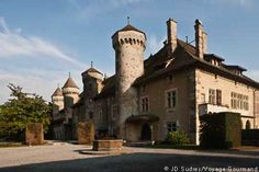 El castillo de Ripaille, Rhône-Alpes, Francia http://www.ripaille.fr/