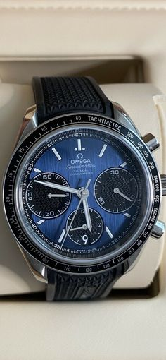 Omega Speedmaster Racing Co-Axial Blue Dial Men's Watches O32632405003001 · $2,799.00